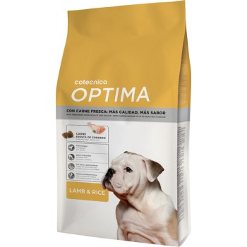 Optima lamb & rice