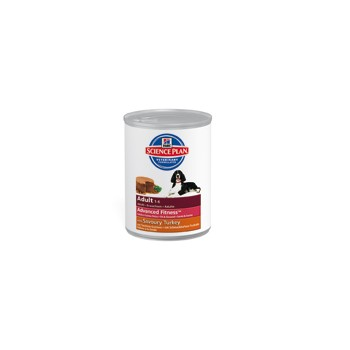 Lata canine adult con pavo