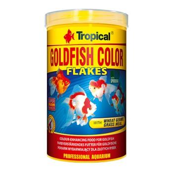 Goldfish color flakes