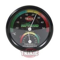 termómetro-higrómetro, analógico