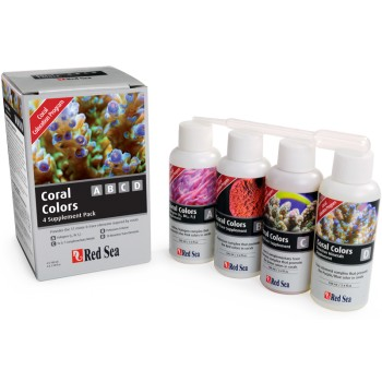 coral colors A, B, C y D . 4 x 100 ml
