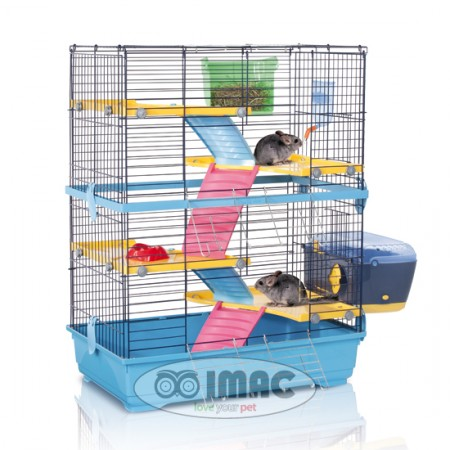 jaula roedor DOUBLE 80