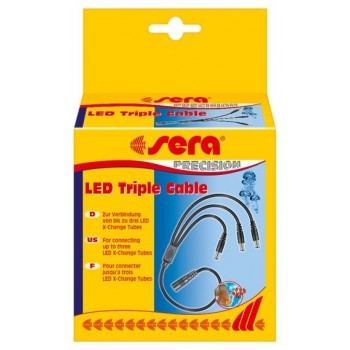 Iluminación Sera LED triple cable