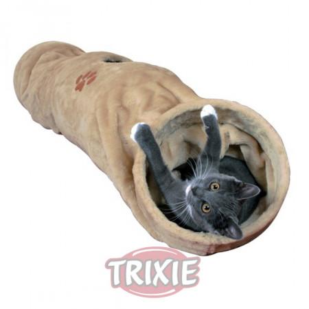 Túnel de juego para gatos