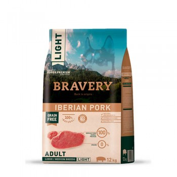 Bravery Light Iberian Pork Adult medium/large breeds