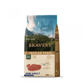 Bravery Iberian Pork Adult Mini