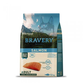 Bravery Salmon Adult medium/large breeds
