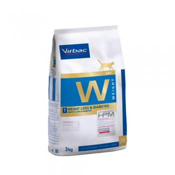 Virbac Gato W1 control de peso y diabetes