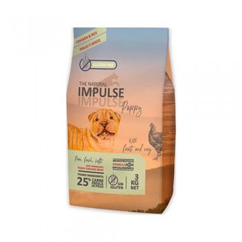 Natural Impulse Dog Puppy Chicken