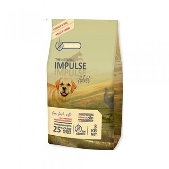 The Natural Impulse Dog Adult Chicken