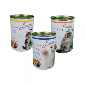 Bocaditos en salsa para gato 415g