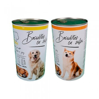Bocaditos en salsa para perro 1230g