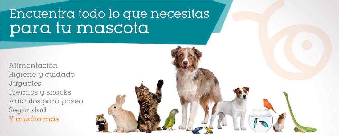 Encuentra todos los productos que necesitas para tu mascota